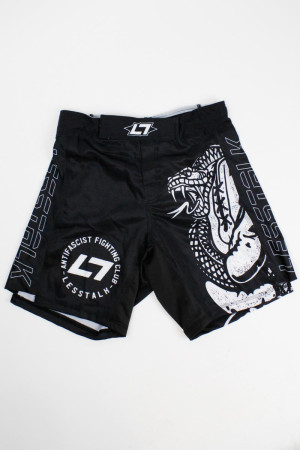 Less Talk Shorts MMA Snake Black