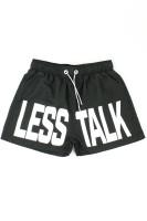 Less Talk Swimshorts Black