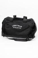Less Talk Holdall Bag Black