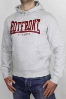 Less Talk Hoodie Rotfront Grey